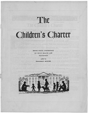 La Carta dei bambini - The Children's Charter, 1930 (3/4)