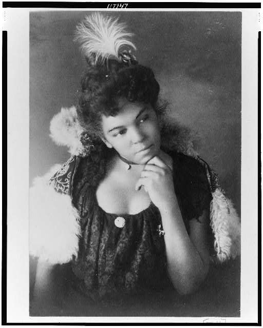 Giovane donna afro-america, 1899, Library of Congress