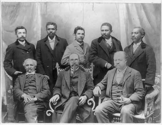 Consiglio di amministrazione della co produzione Coleman., Concord, NC, l'unico cotonificio Negro negli Stati Uniti,  1899, Library of Congress
