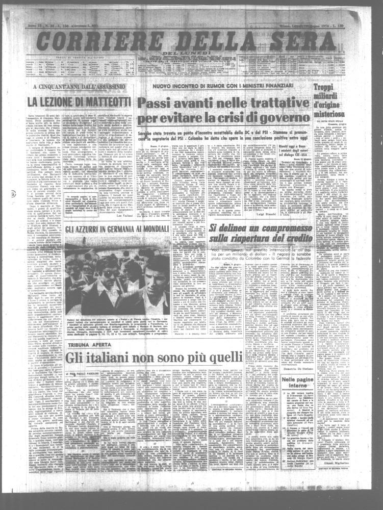 Pier Paolo Pasolini: 40 anni senza. Una iniziativa molto ricca che lo vedrà presente... (5/5)