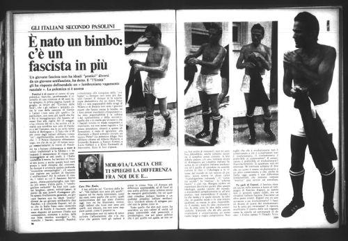 Pier Paolo Pasolini: 40 anni senza. Una iniziativa molto ricca che lo vedrà presente... (2/5)